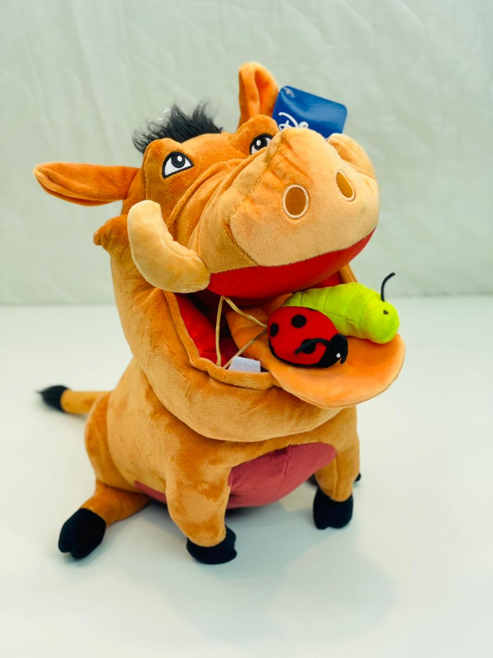 Pelúcia Pumba 35 cm Disney Fun