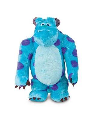Pelúcia Sulley Com Som Monstros S.A Disney Multikids