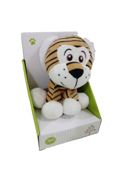Pelúcia Tigre 22cm Sentado Unik Toys