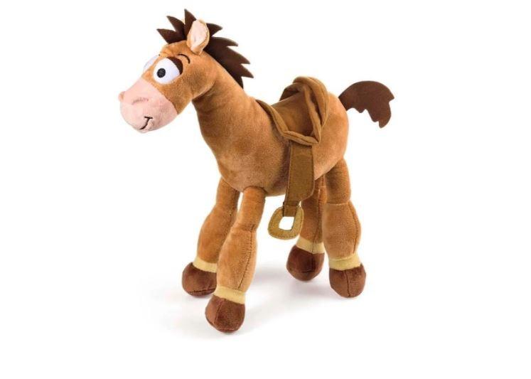 Pelúcia Toy Story Bala no Alvo Cavalo 30cm Com Som Multikids