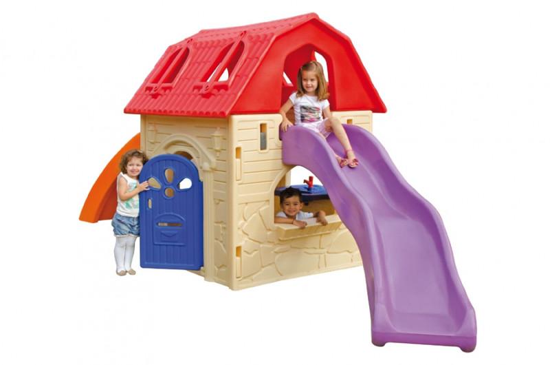 Playground Infantil Play House Em Plástico Xalingo