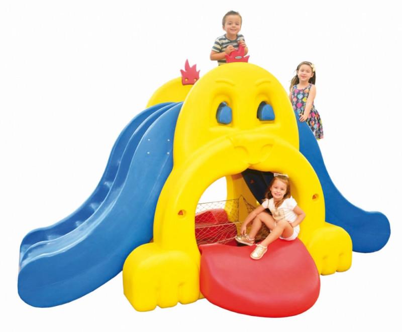 Playground Infantil PlayDog House Em Plástico Rotomoldado Xalingo 0976.5