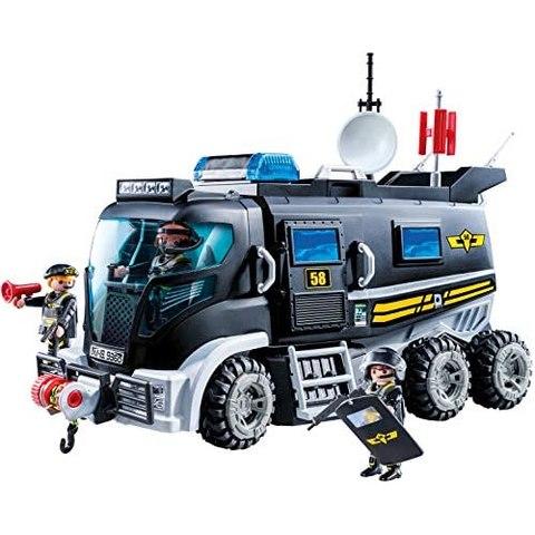 Playmobil Caminhão de Unidade Tática City Action 9360 Sunny