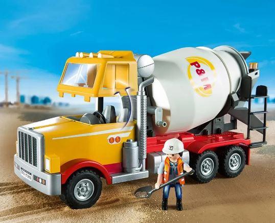 Playmobil City Action Caminhão Betoneira Sunny 9116