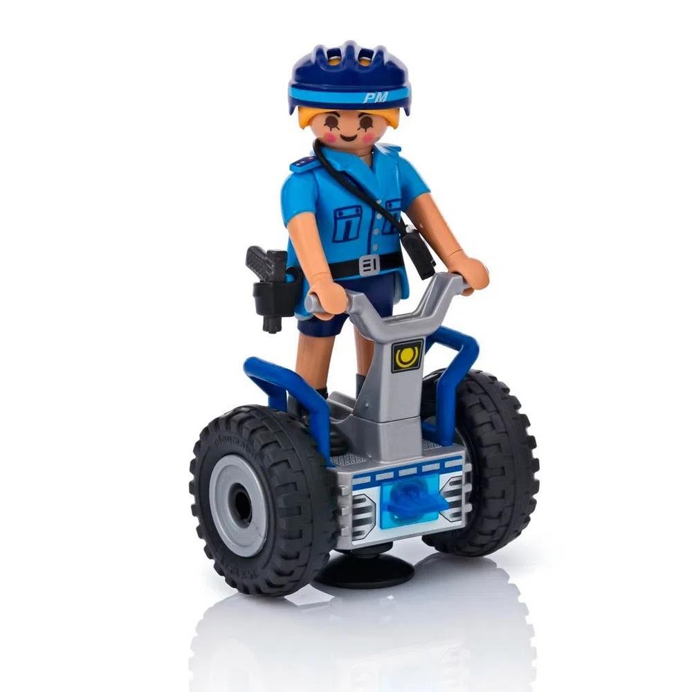 Playmobil City Action Policia Feminina Com Segway 6877 Sunny