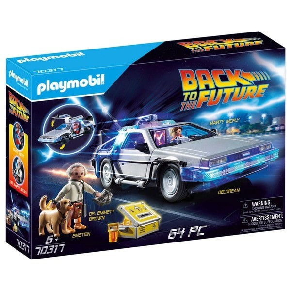 Playmobil De Volta Para O Futuro Delorean Car Time Machine 70317 Sunny