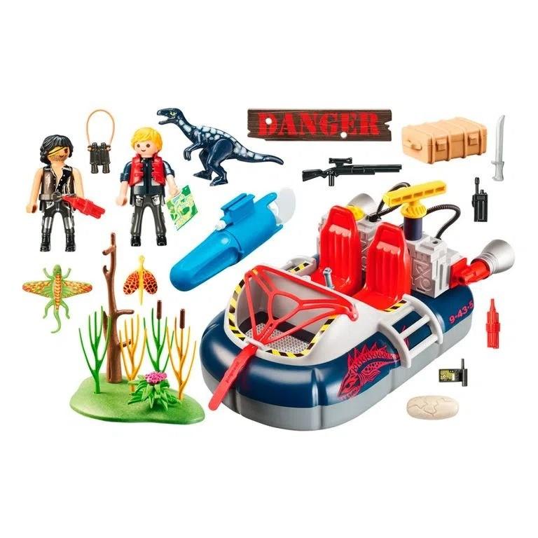Playmobil Dino Hovercraft Com Motor Subaquático 9435 Sunny