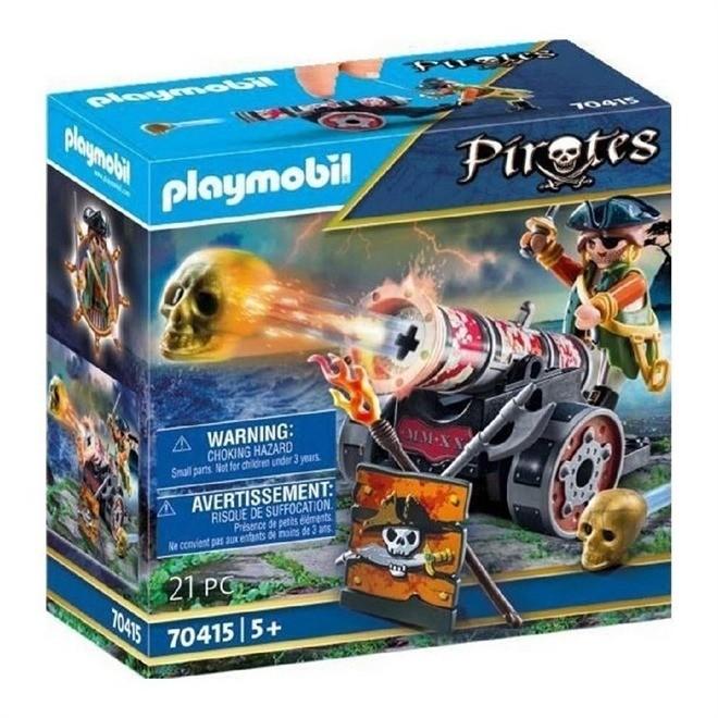 Playmobil Pirata Com Canhão 70415 Sunny