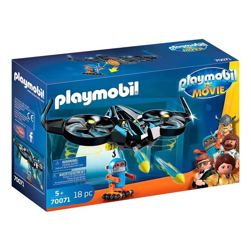 Playmobil The Movie O Filme Robotitron Com Drone 70071 Sunny