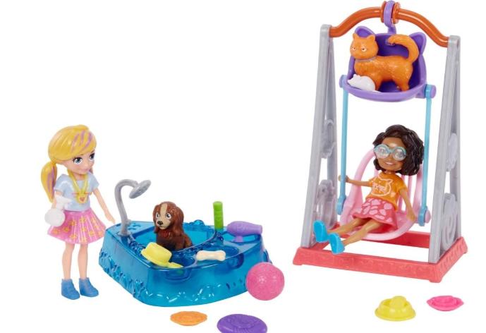 Polly Pocket Hora de Brincar Duas Amigas GFR06 Mattel