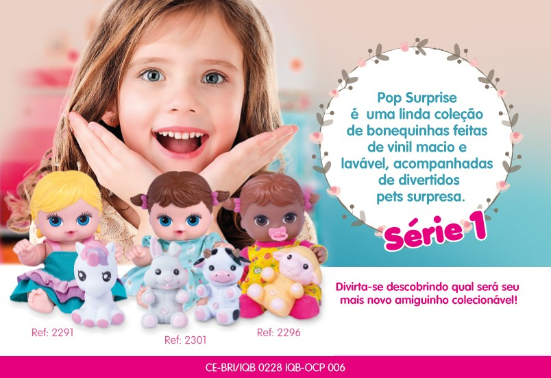 POP SURPRISE NEGRA COM UNICORNIO COTIPLAS