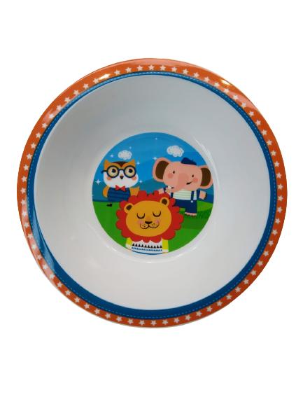 Prato Infantil Bowl Happy Friends 08697 Buba