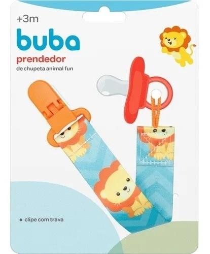 Prendedor De Chupeta Leãozinho Animal Fun Buba