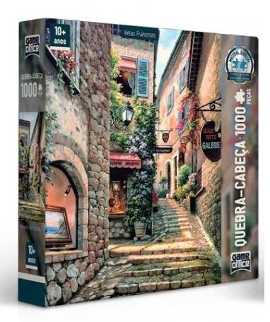 Quebra-Cabeça 1000 Peças Vielas Francesas Escada Toyster