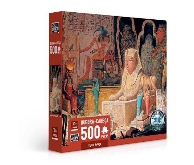 Quebra Cabeça 500 Peças Egito Antigo Toyster