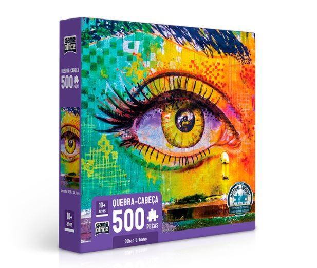 Quebra Cabeça 500 Peças Olhar Urbano Toyster