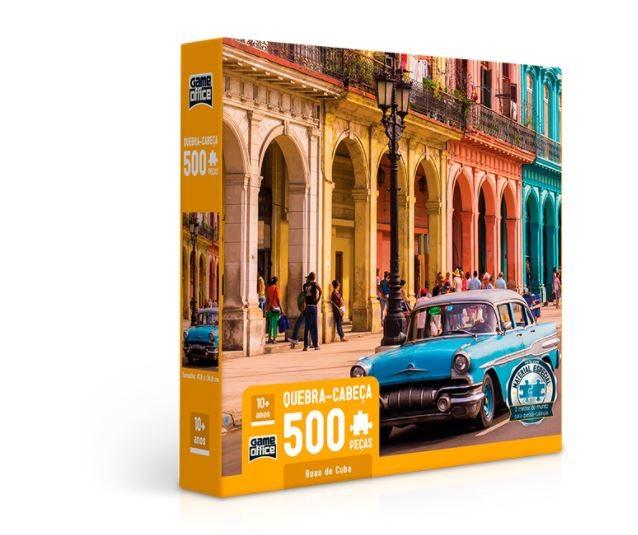 Quebra Cabeça 500 Peças Ruas De Cuba Toyster