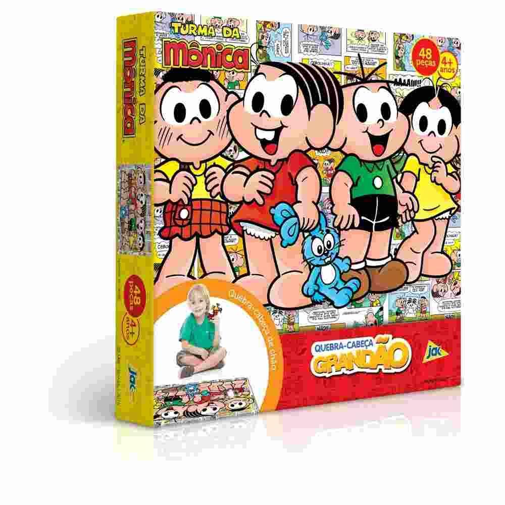Quebra Cabeça Grandão 48 peças  Turma da Monica - Toyster