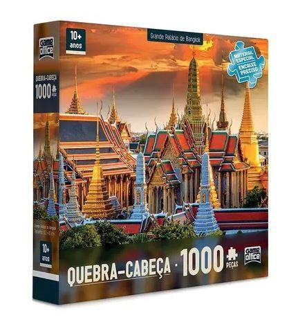Quebra Cabeça Grande Palácio de Bangkok 1000 Peças Toyster