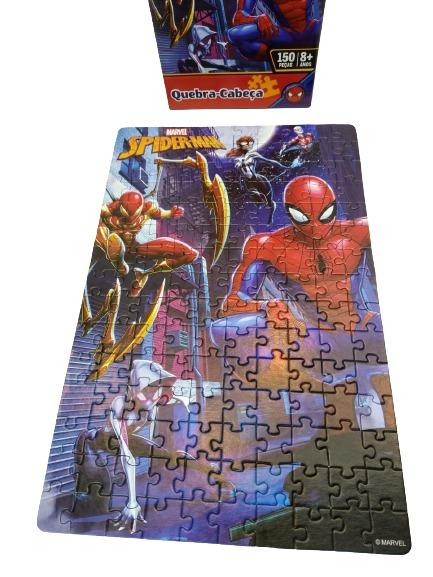 Quebra-Cabeça Homem Aranha 150 Peças Toyster