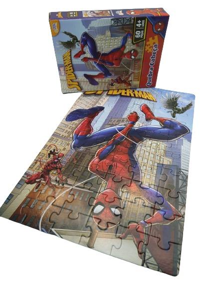 Quebra-Cabeça Homem Aranha 60 Peças Toyster