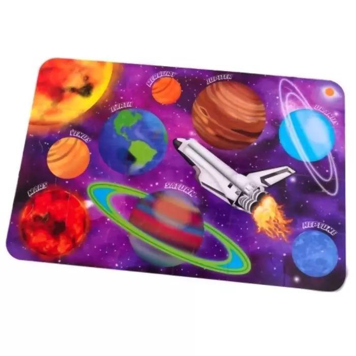 Quebra Cabeça Infantil Puzzle 24 Peças Grandes Espaço Sideral Original KidKraft