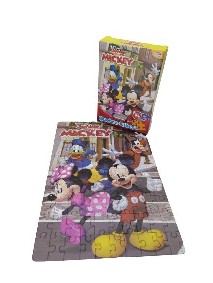 Quebra-Cabeça Mickey 100 Peças 8001 Toyster