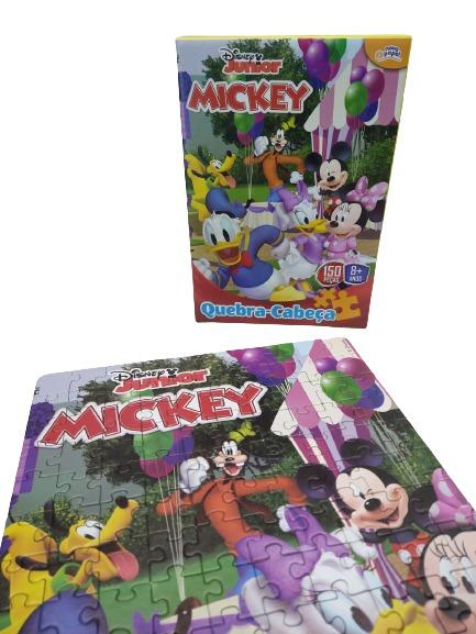 Quebra-Cabeça Mickey 150 Peças 8002 Toyster