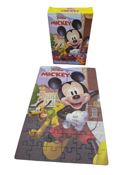 Quebra-Cabeça Mickey 60 Peças 8000 Toyster