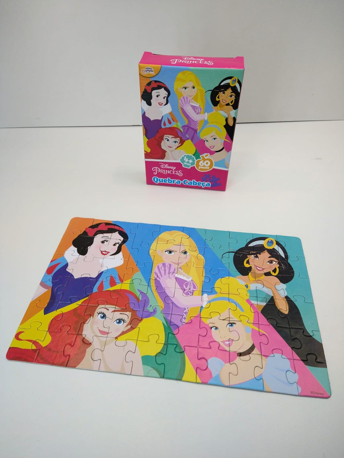 Quebra-Cabeça Princesas 60 Peças 8006 Toyster