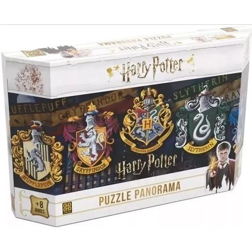 Quebra-Cabeça Puzze Panorama Harry Potter 350 Peças Grow
