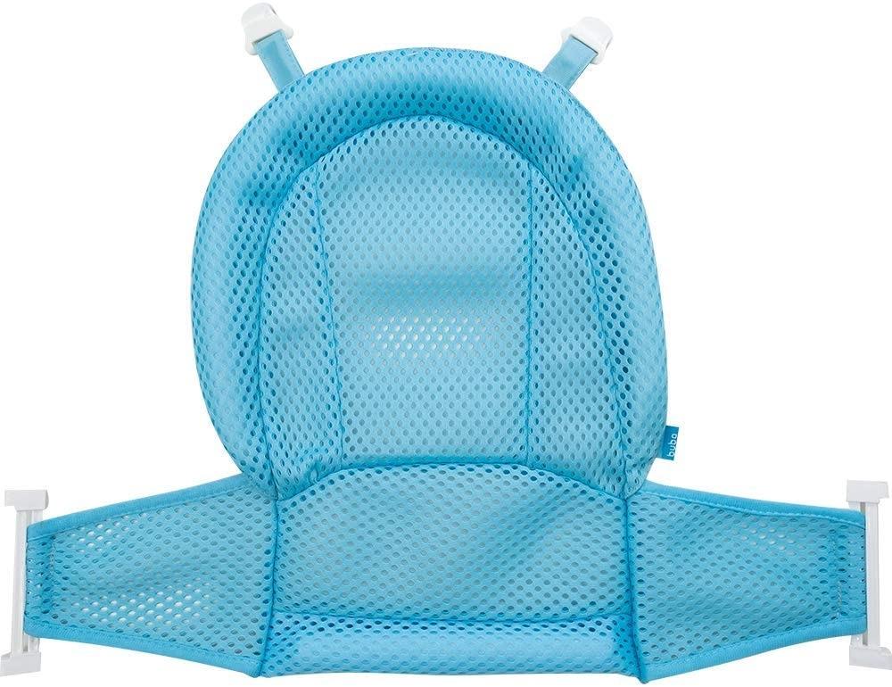 Rede Infantil De Banheira Para Banho Azul Buba