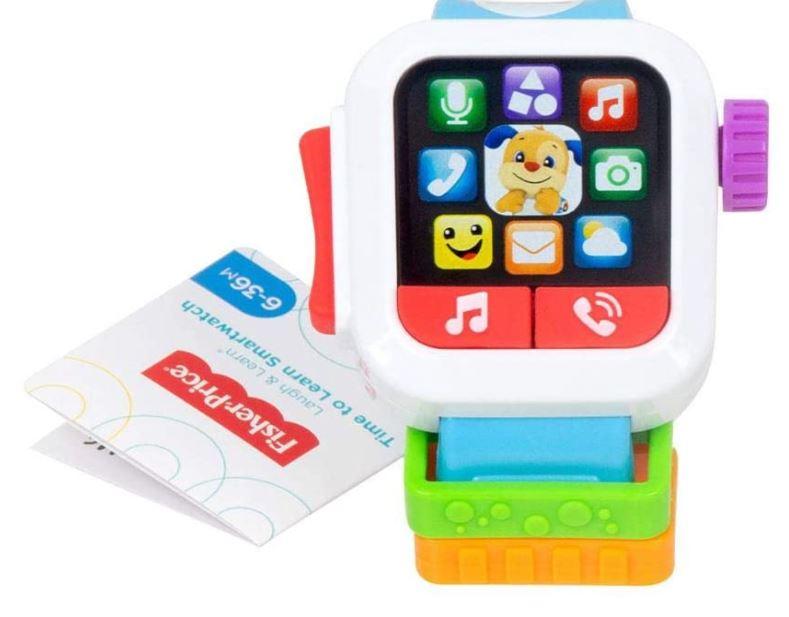 Relógio Meu Primeiro Smartwatch Aprender e Brincar Fisher Price