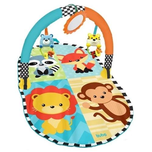 Tapete De Atividades Para Bebê Amiguinhos Da Selva Buba Baby 08564