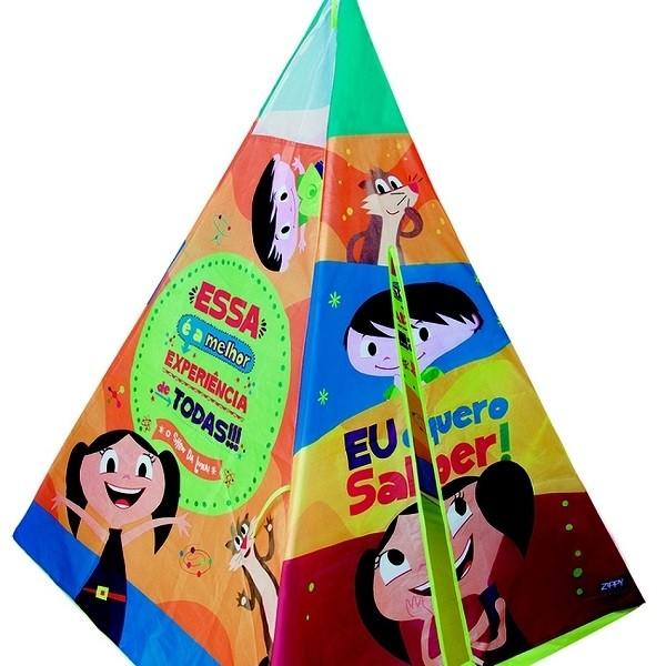 Tenda Toca Índio o Show da Luna Zippy Toys