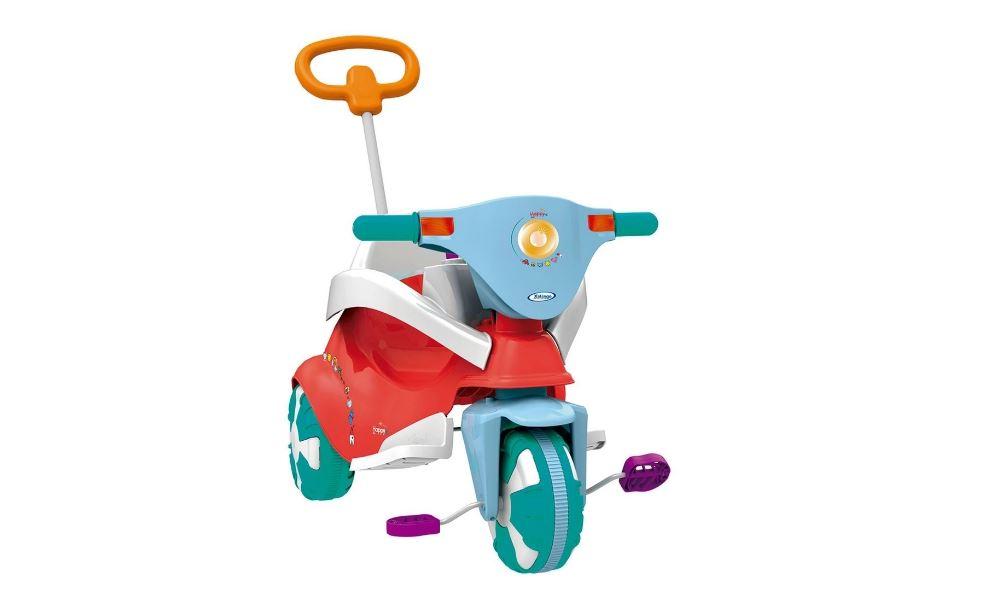 Triciclo Infantil Happy Red (vermelho) 3 em 1 Xalingo