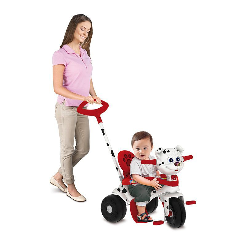 Triciclo Tonkinha Doggy Passeio E Pedal Bandeirante