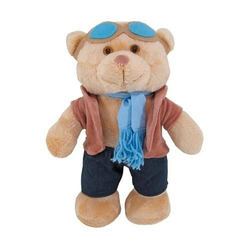 Urso de Pelucia Médio Aviador 35cm Mury Baby