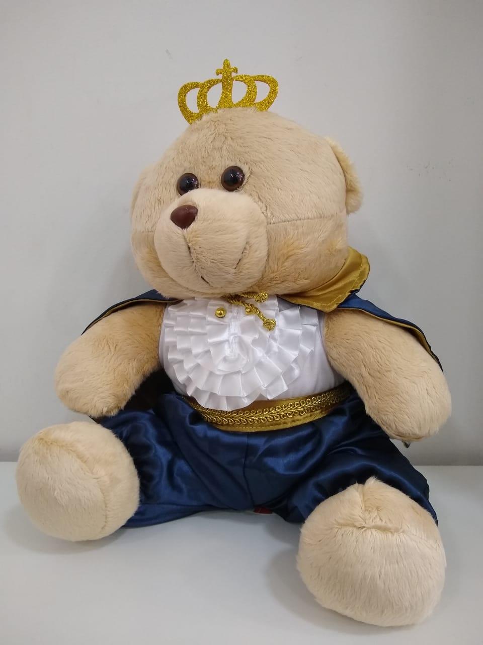 Urso de Pelúcia Príncipe Real 35 cm 1126 Mury Baby