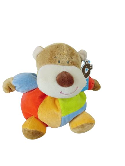 Urso de Pelúcia Turminha Bolinha 28 cm sentado 9986 Buba