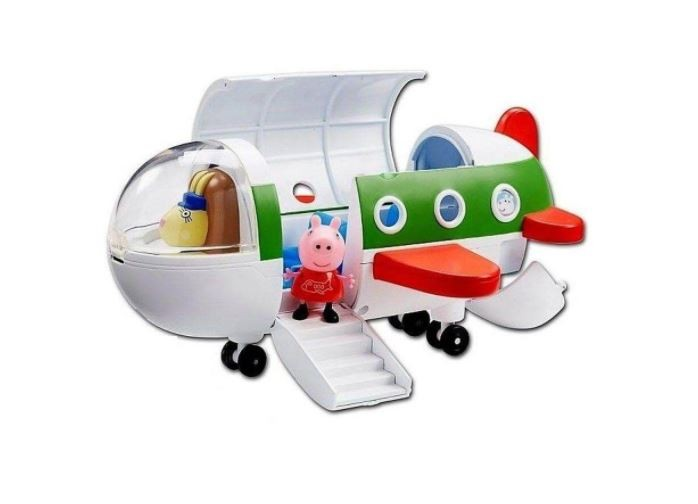 Veículo Avião da Peppa Pig Com Acessório Sunny