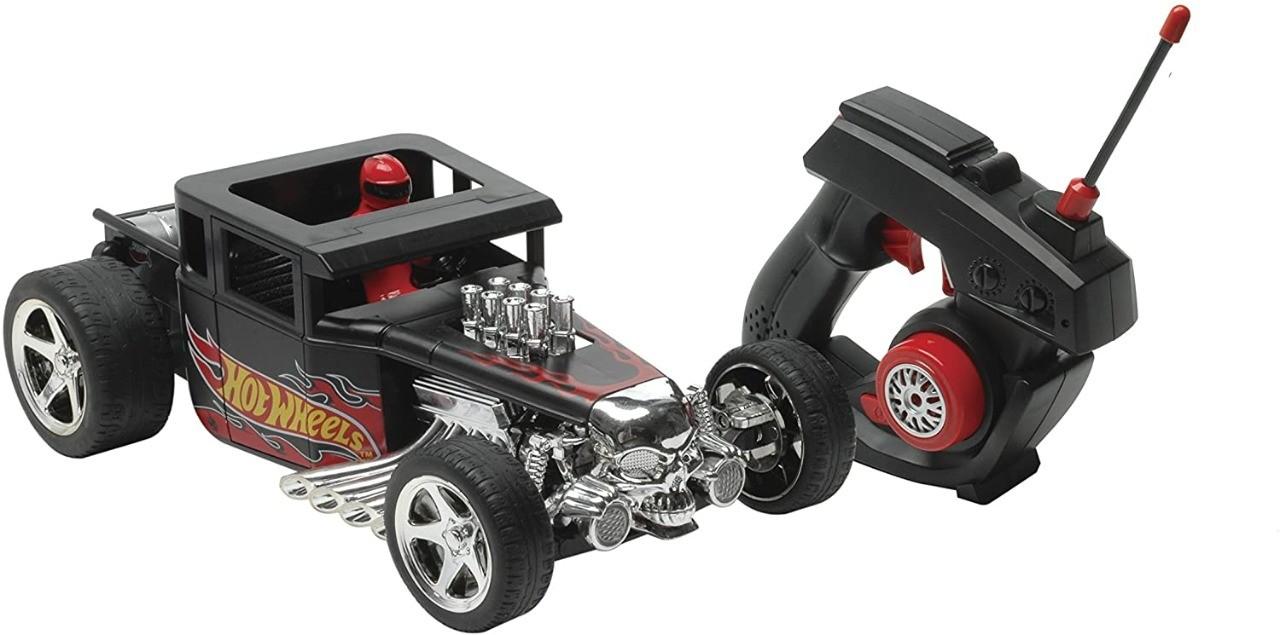 Veículo Controle Remoto Bone Shaker Hot Wheels Candide