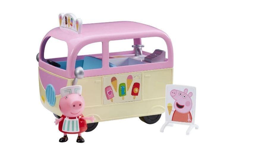 Veículo Peppa Pig Caminhão De Sorvete Com Boneco Sunny