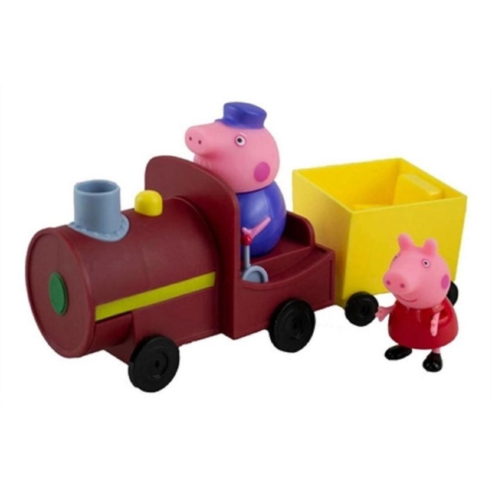 Veiculo Peppa Pig Trenzinho Do Vovô Pig Maquinista Sunny