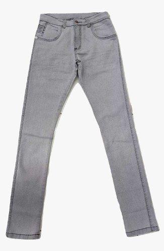 Calça Jeans Clara Masculina Slim Fit Com Lycra Skinny