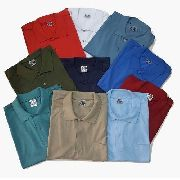 Kit 8 Camisetas Polo Bolso Manga Curta Camisa Gola Polo