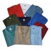 Kit 6 Camiseta Polo Bolso Algodão Manga Curta Polo Plus Size