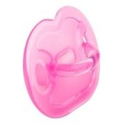 Chupeta 100% Silicone De Grau Medio Orto Ot1 Lolly Rosa