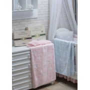 Cobertor Infantil Menina Supersoft Relevo 80cmx110cm Jolitex
