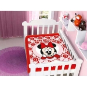 Cobertor Minnie Disney Infantil Bebê Berço Não Alérgico